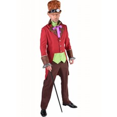 Steampunk 'burlesque' kostuum man