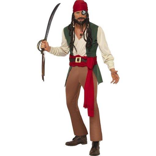 Dronken Caribische Piratenman