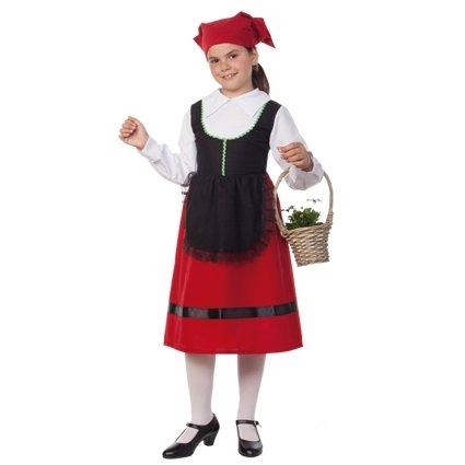 Herderin meisjes kostuum