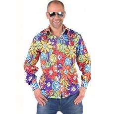 hippie blouse man smile