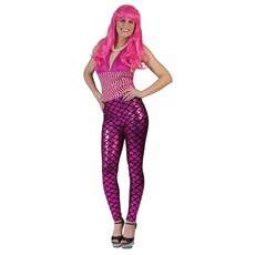 Legging zeemeermin pink