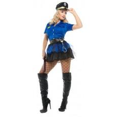 Politie kostuum vrouw