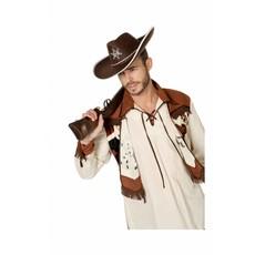 Cowboyhoed groot bruin