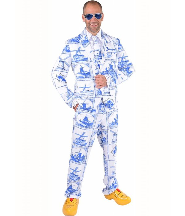 Magic suit Delfsblauw