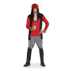 Piraten outfit heren 5-delig