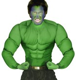 Hulk spierballen shirt groen