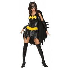 Sexy Batgirl Kostuum 5delig