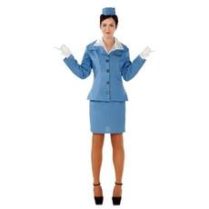 Stewardess kostuum vrouw