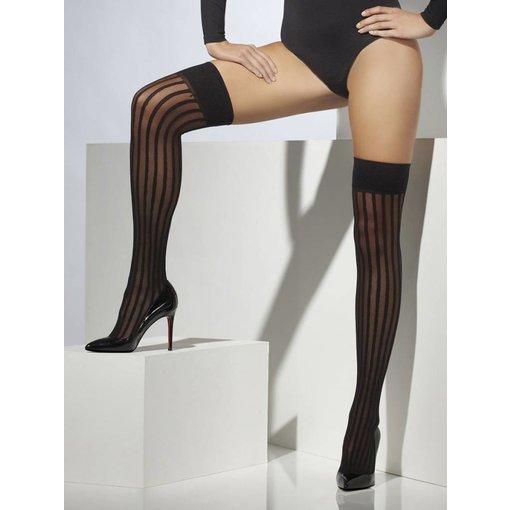 Thigh high stocking zwart