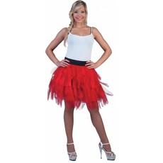Fancy petticoat rood
