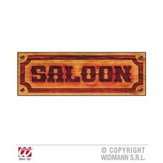Saloon bordje