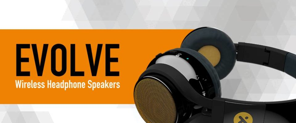 X-mini EVOLVE bluetooth headphone and minispeakers