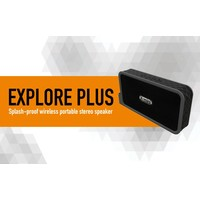 X-mini EXPLORE plus, stereo minispeaker! Spatwaterdicht!