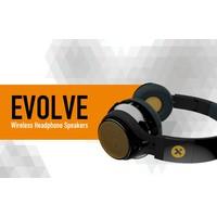 X-mini EVOLVE, draadloze stereo koptelefoon en minispeaker set!