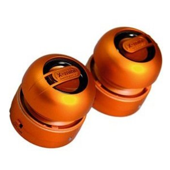 X-mini xmini max stereo minispeaker orange