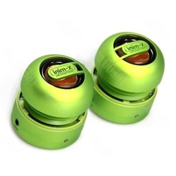 X-mini max speakerset green stereo