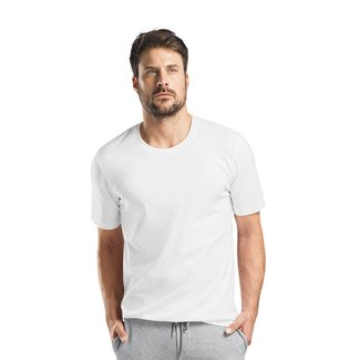 Hanro  Hanro Heren Sleep & Lounge Living Leisure s/slv shirt wit