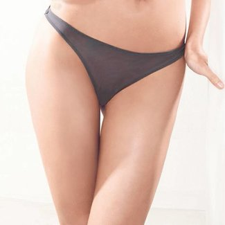 Parah  Parah lingerie ladies Makrame string grey