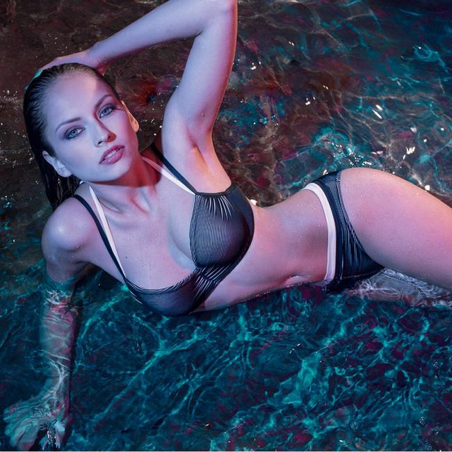 Nicole Olivier Nicole Olivier Beachwear bikini slip  Bernard black 5118