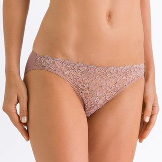 Hanro  Hanro Ladies lingerie Moments slip brown 71446
