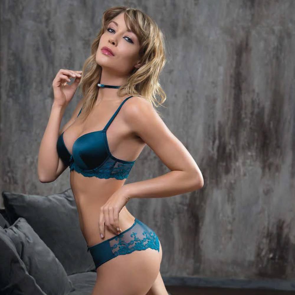 AMBRA Lingerie BH's Platinum Fashion oil push BH groen