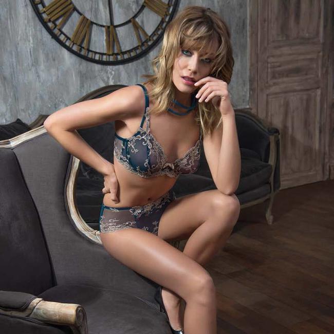 AMBRA  AMBRA Lingerie slips Platinum Fashion slip groen
