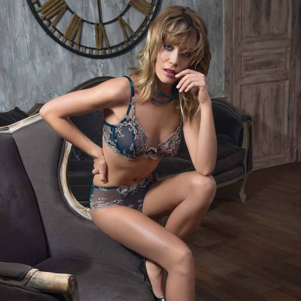 AMBRA Lingerie slips Platinum Fashion slip groen