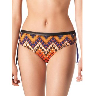 Parah  Parah Beachwear Ladies bikini slip Etno Chic orange