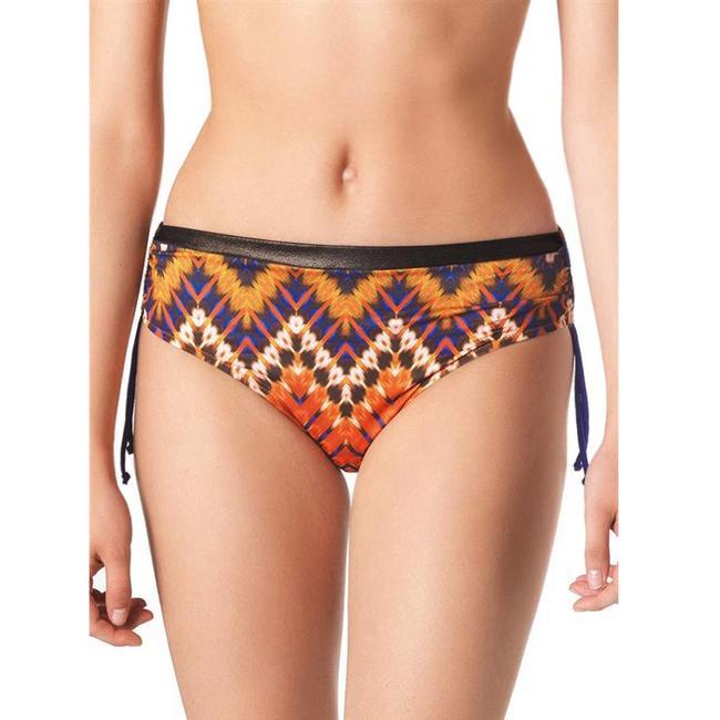 Parah  Parah Badmode Dames bikini slip Etno Chic oranje