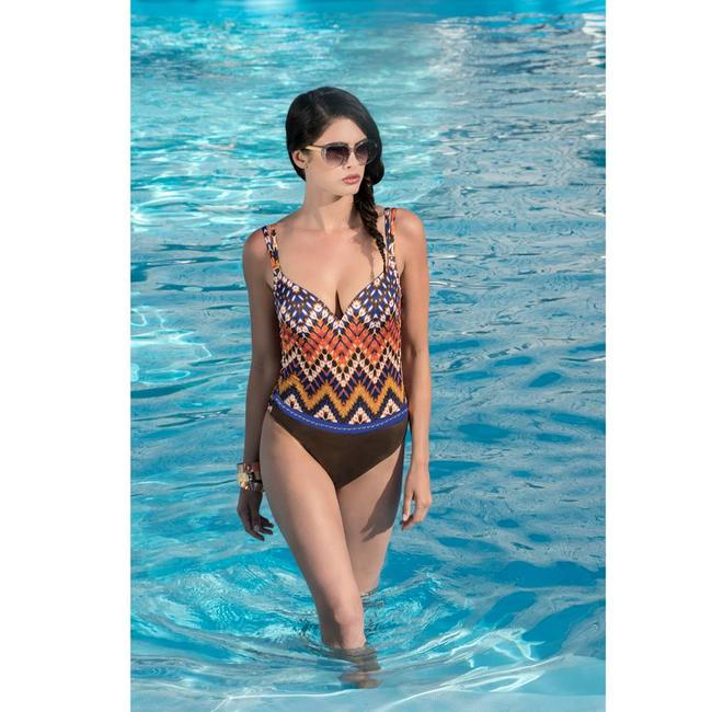 Parah  Parah Beachwear Ladies Swimsuit Etno Chic blue
