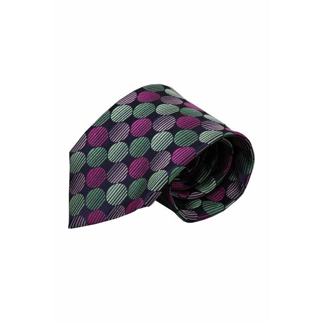 Volare Collection  Purple silk necktie VC64