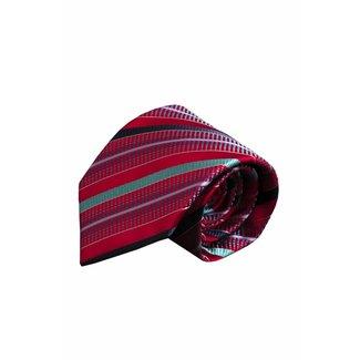 Massimo-Valeri  Rode zijden stropdas V56