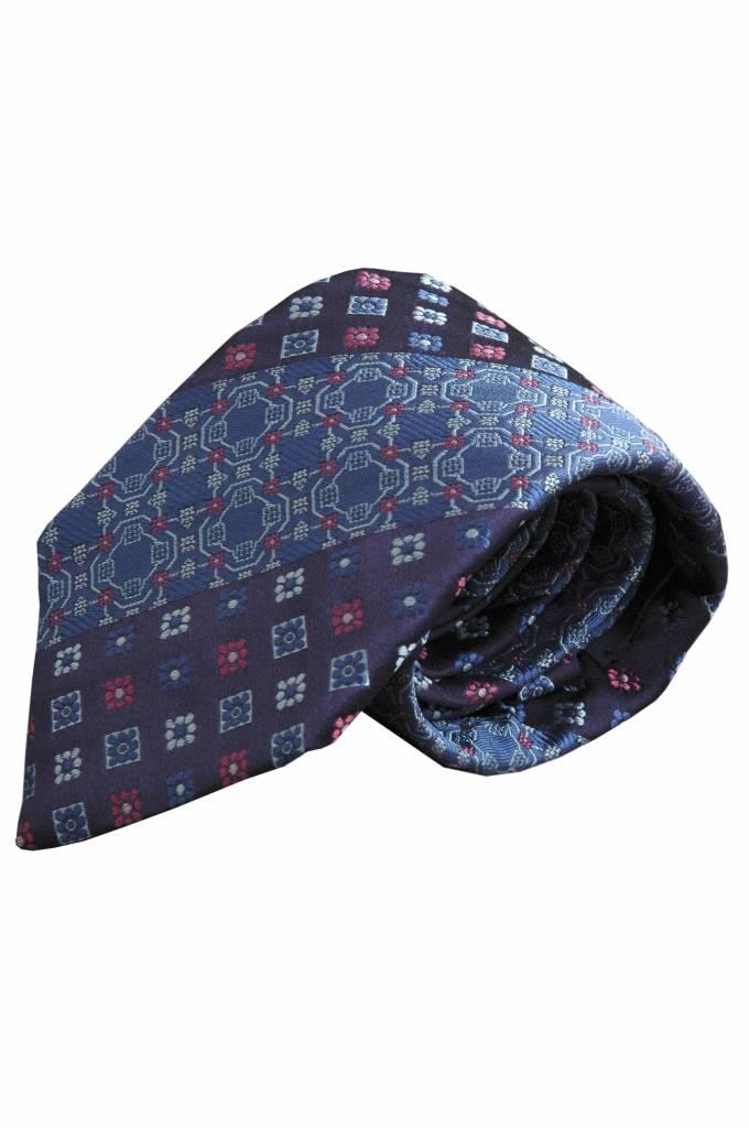 Blauwe stropdas V45