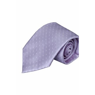 Massimo-Valeri  Lila zijden stropdas V39