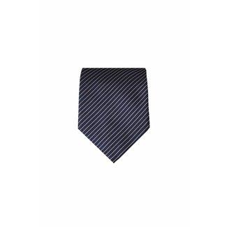 Massimo-Valeri  Blauwe zijden stropdas M20
