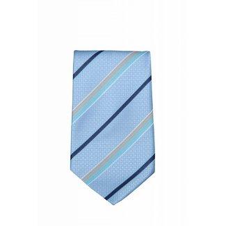 Valentino Blauwe stropdas Valentino VG09