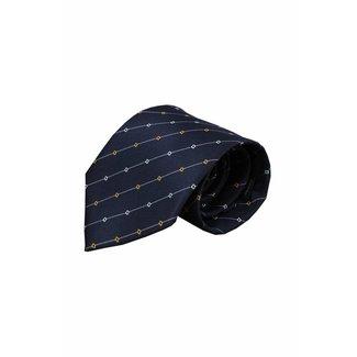 Vincelli Alberto  Blue silk necktie Iseo 01