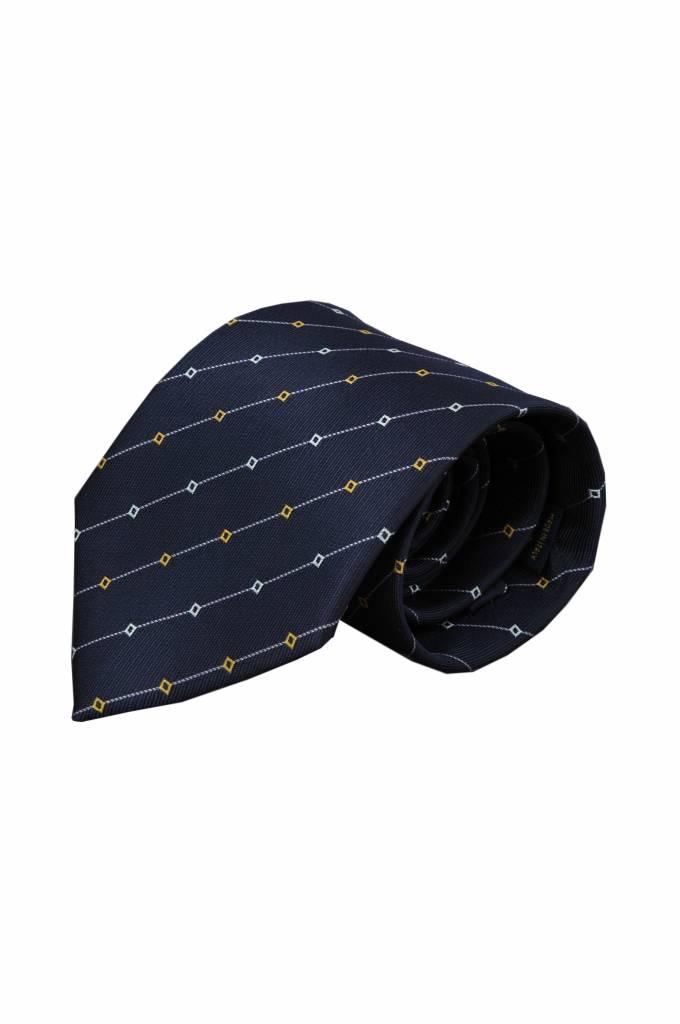 Blauwe stropdas Iseo 01