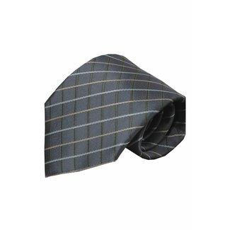 Vincelli Alberto  Gray silk necktie Renate 01