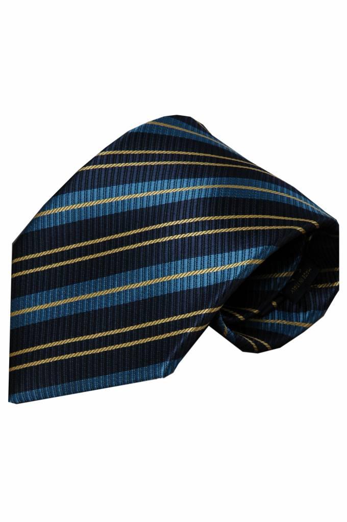 Blauwe stropdas Naro 01
