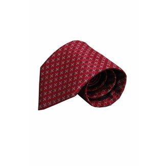 Vincelli Alberto  Red silk necktie Livorno 01