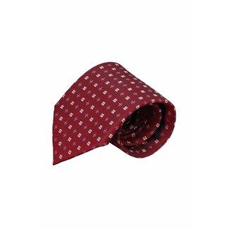 Vincelli Alberto  Red silk necktie Itala 01