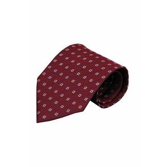 Vincelli Alberto  Red silk necktie Guzelli 01