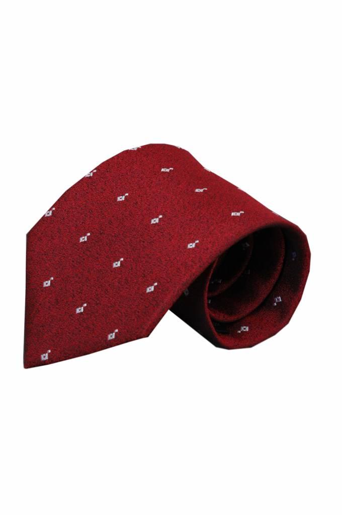 Rode stropdas Erba 01