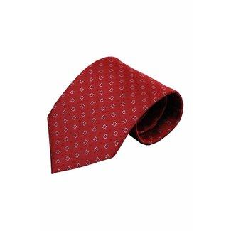 Vincelli Alberto  Rode zijden stropdas Xon 01
