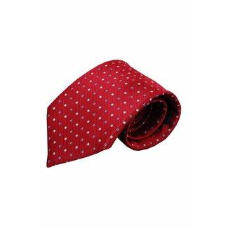 Vincelli Alberto  Rode zijden stropdas Ispani 01