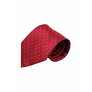 Vincelli Alberto  Red silk necktie Gubbio 01