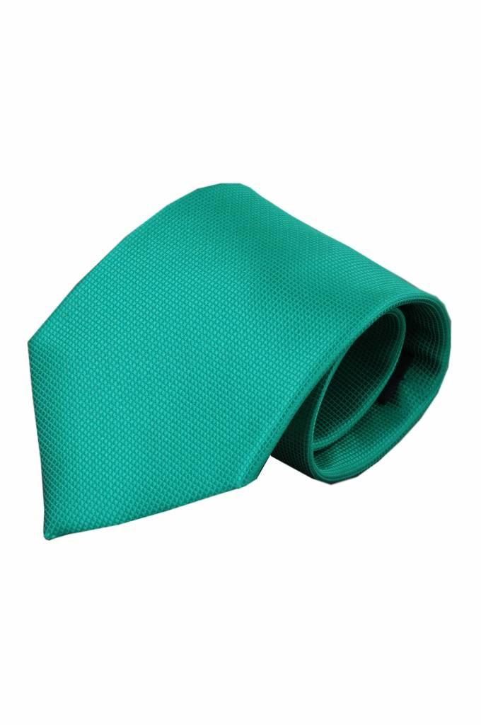 Groene zijden stropdas Barolo 01