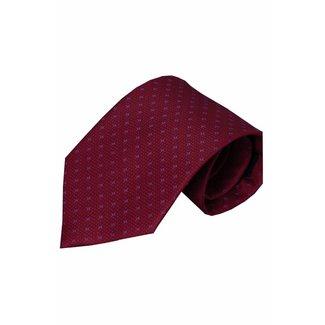 Vincelli Alberto  Red silk necktie Olivetti 01