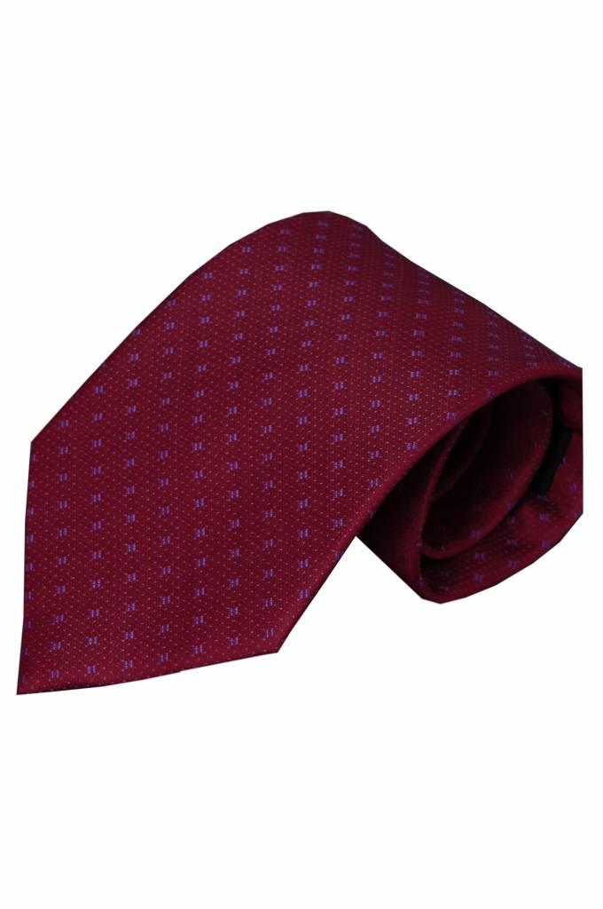 Rode stropdas Olivetti 01